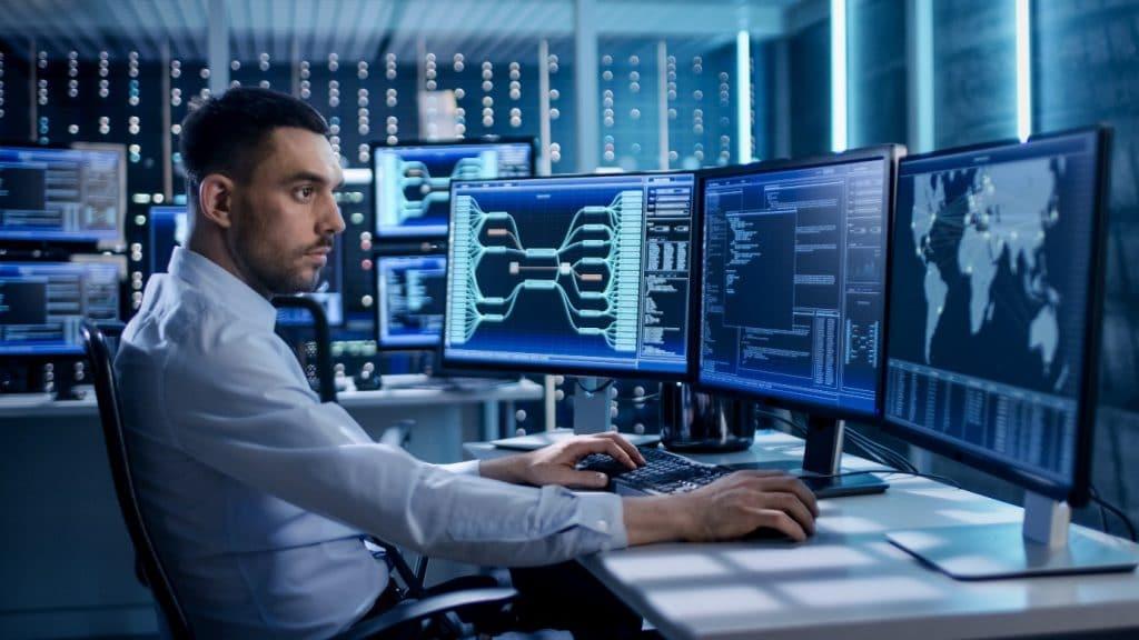 Controlekamer DCS systeem